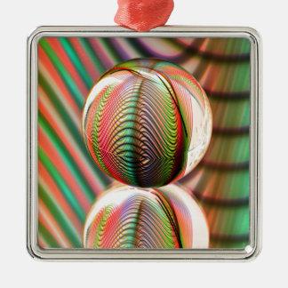 Veränderung auf dem Thema Silbernes Ornament