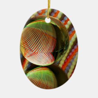 Veränderung auf einem Thema 2 Keramik Ornament