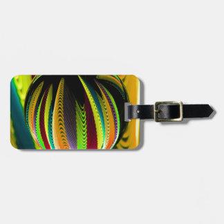 Veränderung ColoursI des Balls Gepäckanhänger