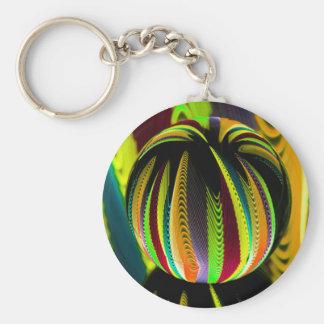 Veränderung ColoursI des Balls Schlüsselanhänger
