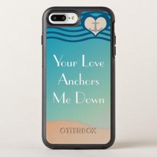Verankern Sie Liebe OtterBox Apple iPhone 7 OtterBox Symmetry iPhone 8 Plus/7 Plus Hülle