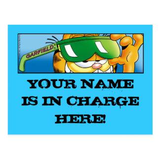 Verantwortliche Postkarten Garfields Logobox