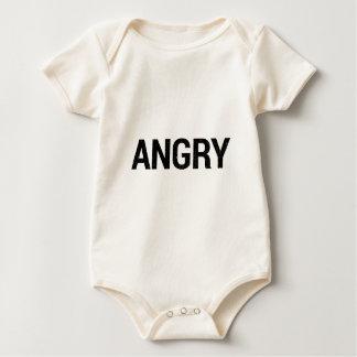 Verärgert Baby Strampler
