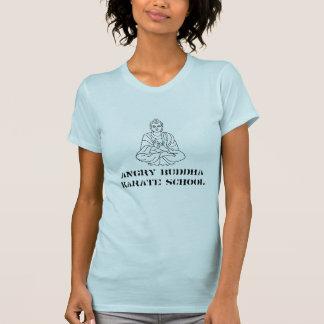 VERÄRGERTE BUDDHA-KARATE-SCHULE T-Shirt