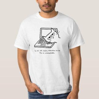 Verärgerte Katze verlangt Aufmerksamkeit T-Shirt