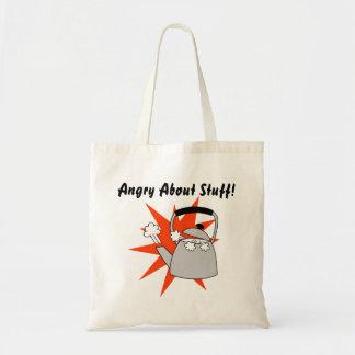 Verärgerte Taschen-Taschen-lustiges Geschenk für Tragetasche