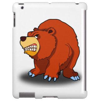 Verärgerter Bär iPad Fall