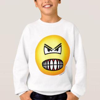 Verärgerter Emoticon Sweatshirt