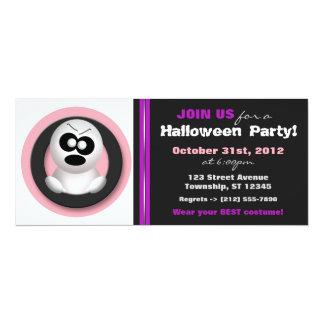 Verärgerter Geist - Halloween-Party-Einladungen 10,2 X 23,5 Cm Einladungskarte