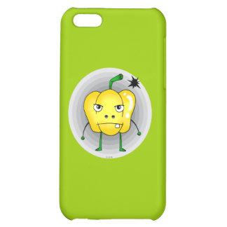 Verärgerter gelber Paprika iPhone 5C Schale