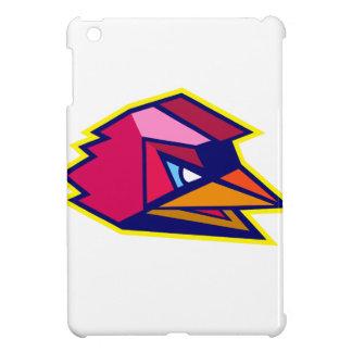 Verärgerter Hahn-niedriges Polygon iPad Mini Hülle