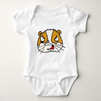 Verärgerter Hamster Baby Strampler