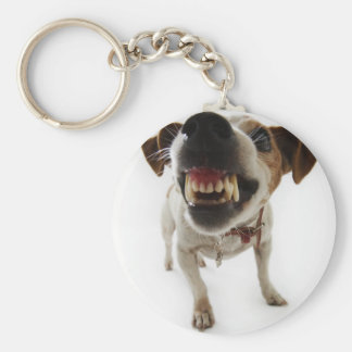 Verärgerter Hund Schlüsselanhänger