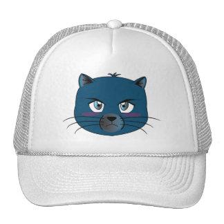 Verärgerter Katzen-Hut Caps