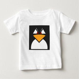 Verärgerter Penguin - Baby-feiner Jersey-T - Shirt