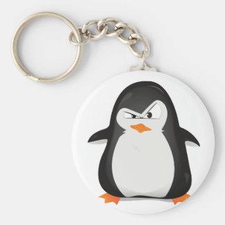 Verärgerter Pinguin Schlüsselanhänger