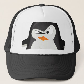 Verärgerter Pinguin Truckerkappe