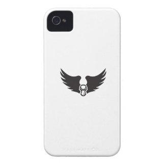 Verärgerter Stockenten-Enten-Kopf Wings Retro Case-Mate iPhone 4 Hülle