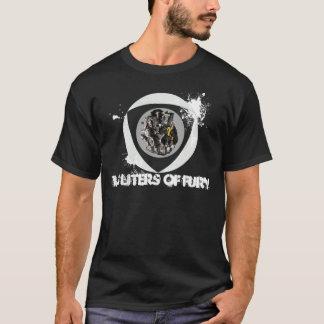 Verärgertes Dreh T-Shirt