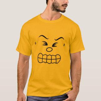 Verärgertes Emoticon-Gruppen-Kostüm