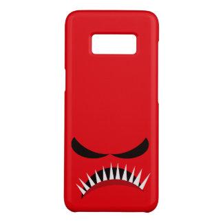 Verärgertes Monster mit den bösen Blicken und Case-Mate Samsung Galaxy S8 Hülle
