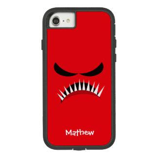 Verärgertes Monster mit den bösen Blicken und Case-Mate Tough Extreme iPhone 8/7 Hülle