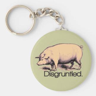Verärgertes Schwein Schlüsselband