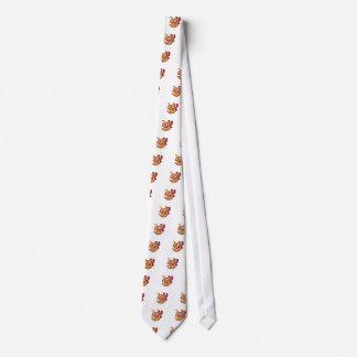 verärgertes weibliches Hornissenmaskottchen Bedruckte Krawatte