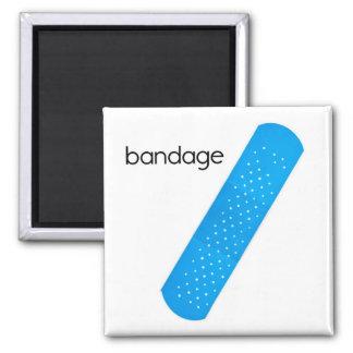 Verband-Kühlschrank-Magnet Quadratischer Magnet