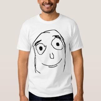 Verbessern Sie als erwartetes Gesicht T-Shirts
