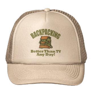 Verbessern Sie als Fernsehen - wandernd Kappe
