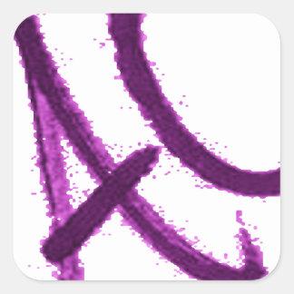 VERBESSERN Sie ALS Wechselstrom .its einen Quadratischer Aufkleber