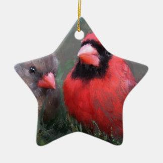 Verbessern Sie bei weitem Keramik Stern-Ornament
