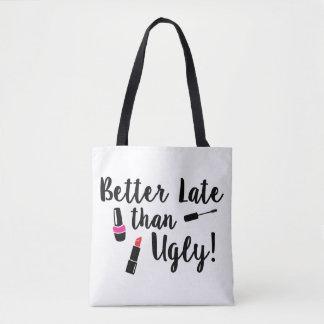 Verbessern Sie spät als hässliche Taschen-Tasche Tasche