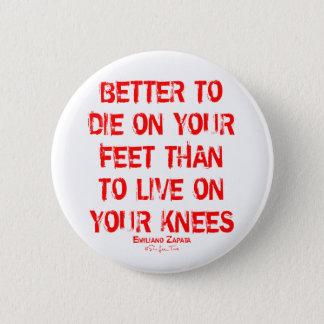 Verbessern Sie zu die auf Ihren Füßen… Runder Button 5,1 Cm