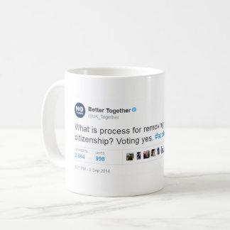 Verbessern Sie zusammen Lüge Kaffeetasse