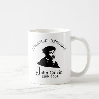 Verbesserte Erbsammlung Johannes Calvin Kaffeetasse