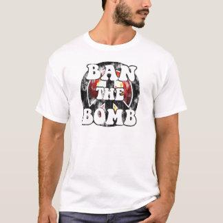 Verbieten Sie die Bombe (getragenen Blick) T-Shirt