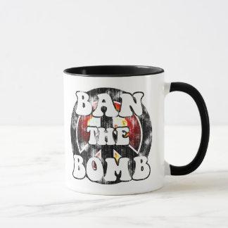 Verbieten Sie die Bombe (getragenen Blick) Tasse