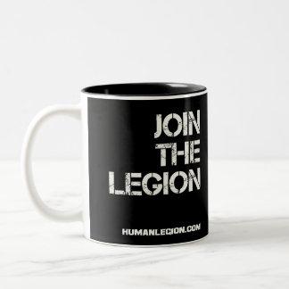 Verbinden Sie die Legions-Tasse (Springer) Zweifarbige Tasse