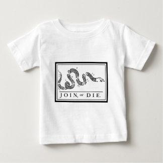 Verbinden Sie oder die Baby T-shirt