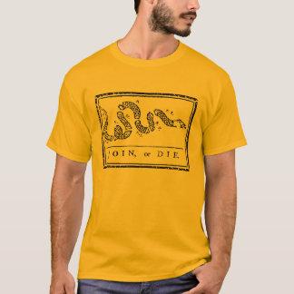 Verbinden Sie oder die T-Shirt
