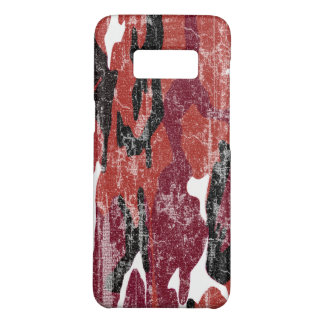 Verblaßte rote Camouflage Case-Mate Samsung Galaxy S8 Hülle