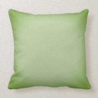Verblaßtes grünes Wurfs-Kissen Kissen