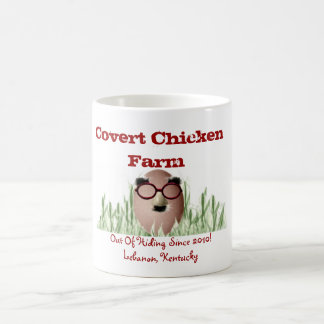 Verborgene Huhn-Waren Kaffeetasse
