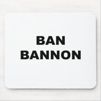 Verbot Bannon Mousepad