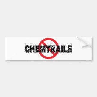 Verbot Chemtrails Autoaufkleber