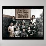 Verbot-Damen Plakat