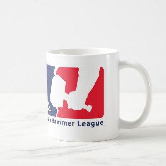 Verbot-Hammer-Liga-Tasse Kaffeetasse