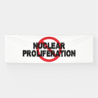 Verbot-nukleare starke Verbreitung Banner